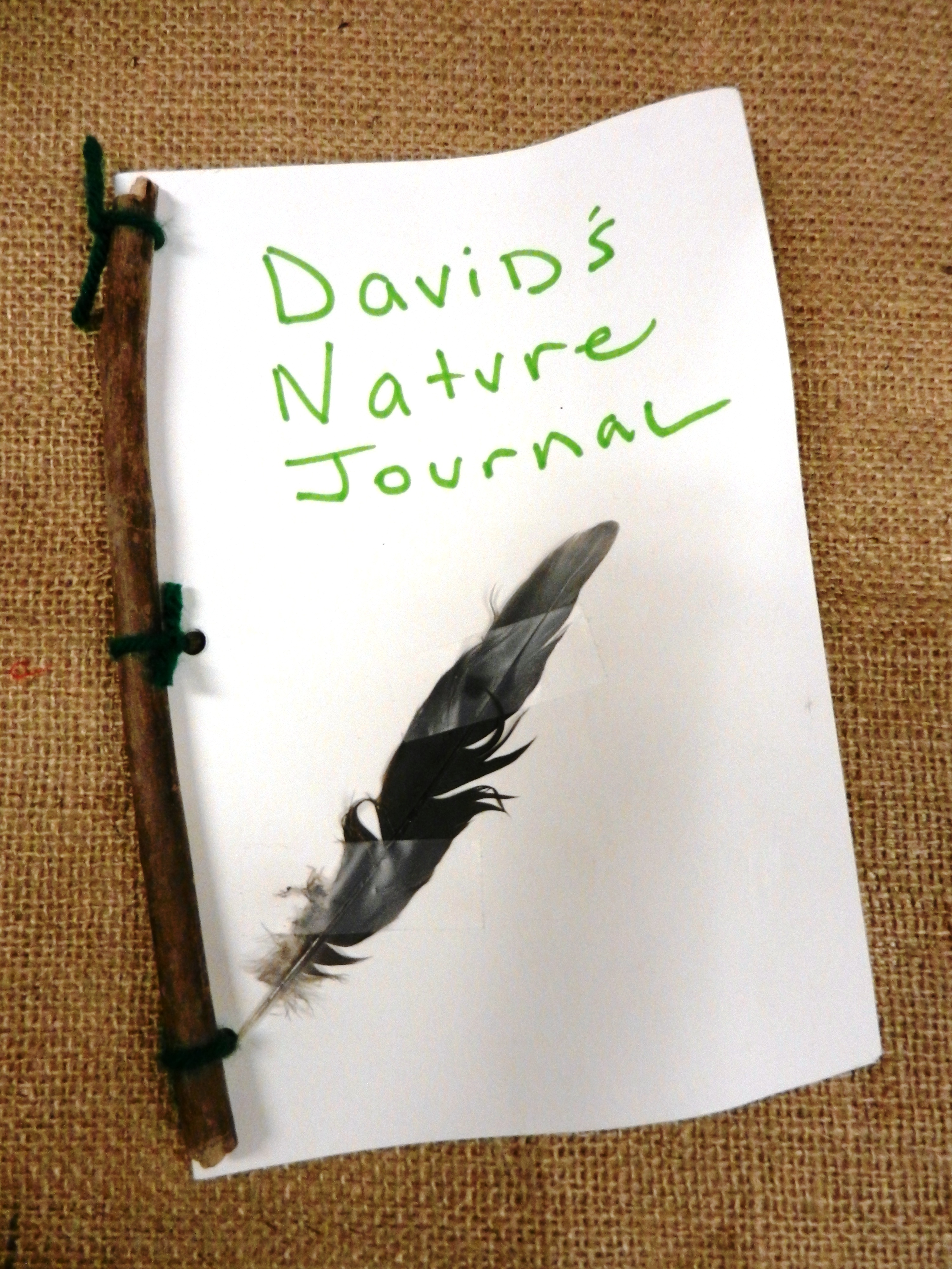 nature journal crafts autumn natural action pages seasonal discovery leaves paper cover into using natureintoaction leaf