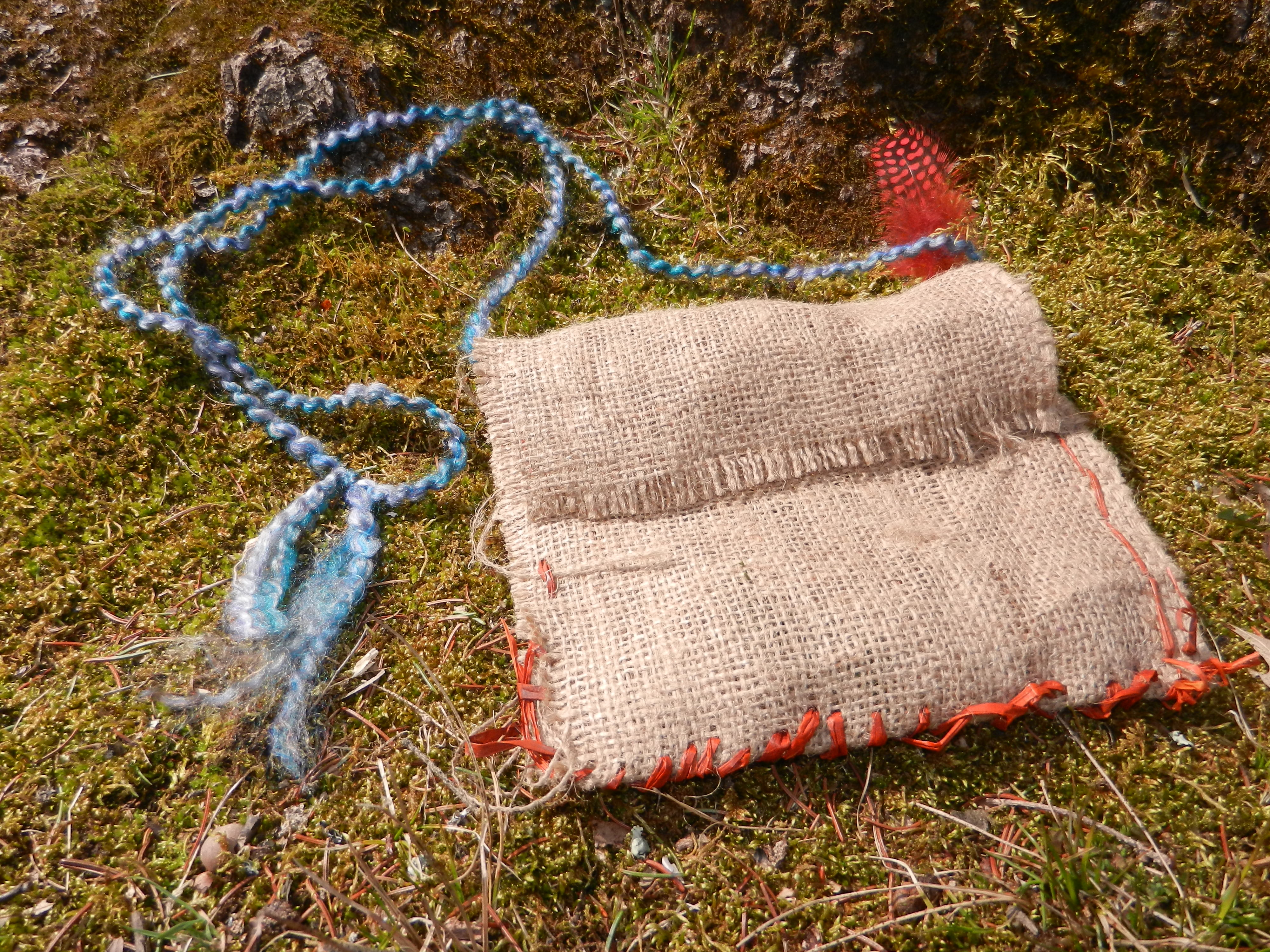 30 Minute Medicine Bag Native American Craft Nature Into Action