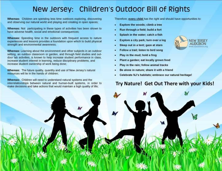 Children's Outdoor Bill of Rights