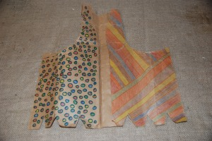 Paper Bag Vest - Prompt to decorate accord. to clan