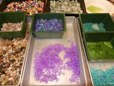 Garden Stepping Stone Materials
