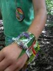 Nature Ducktape Bracelet, Nature Into Action