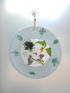 Nature Mosaic Sun Catcher, NatureintoAction (3)