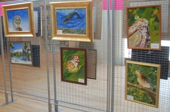 Acrylic Paintings of NJ Endangered and Threatened Species