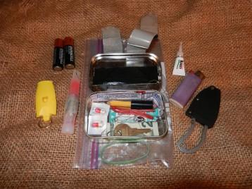 Altoids Survival Tin Kit, Wilderness Skills Camp, Nature Into Action (1)