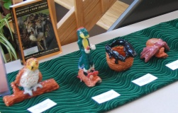 Clay Sculptures of NJ Endangered and Threatened Species