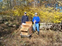 Bringing Wood Duck Boxes into Hatfield Swamp
