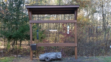 Bird Feeding Station at Essex County Environmental Center