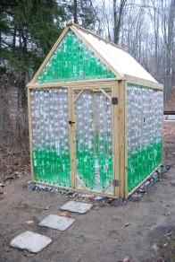 Plastic Bottle Green House