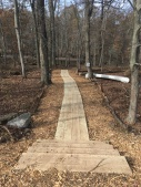 Okner Park Canoe Access Puncheon Boardwalks (2)
