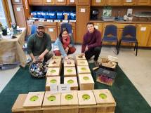 Sensory Touch Boxes, Eagle Project, Nature Into Action