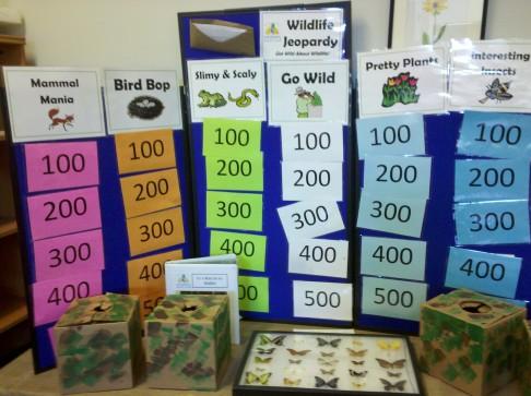 Wildlife Jeopardy Game