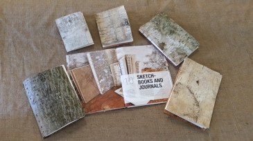 Examples of journals made from Nick Neddo tutorial