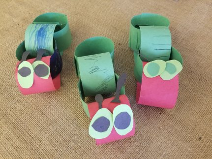 Very Hungry Caterpillar Craft, NatureIntoAction