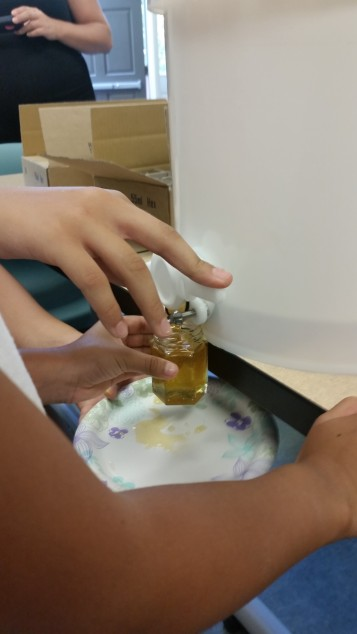 Bottling the Honey