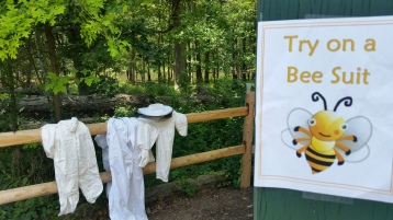 Try on a Bee Suit