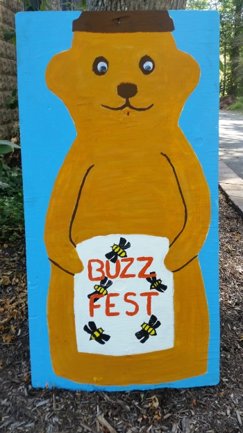 Buzzfest sign board