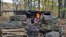 Wild Foraged Autumn Cooking Setup (1)