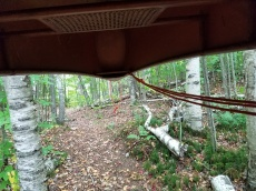View on the portage trail