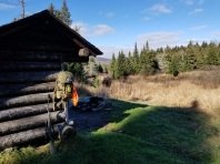 Hiked out to the Carry Lean-to on the Northville Placid Trail south of Cedar River Flow.