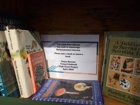 Little Free Libraries, Environmental Literacy, James Stevens (1)