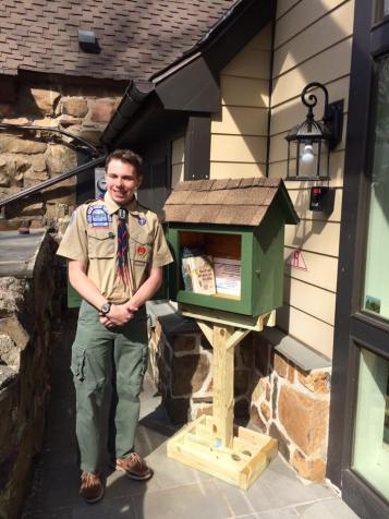 Little Free Libraries, Environmental Literacy, James Stevens (2)